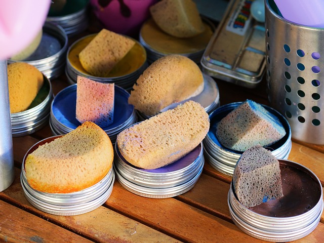 How to use make-up sponges